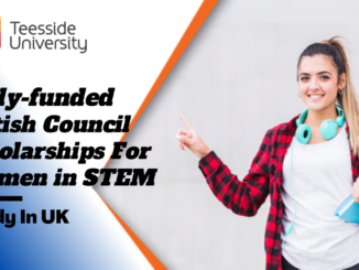 Fully-funded British Council Scholarships for Women in STEM at Teesside University