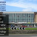 Fully Funded KESS II MSc by Research Scholarship in Swansea University